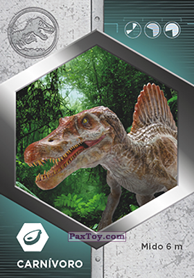 PaxToy.com - 28 Espinosaurio из Supermercados DIA: Jurassic World - Cards