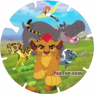 PaxToy.com - 28 La Garde du Roi Lion (La Garde du Roi Lion) из Simply Market: Super Flizz 2