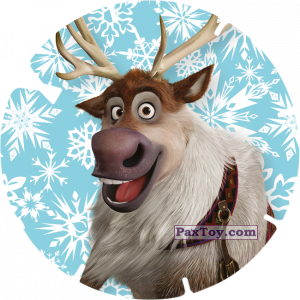 PaxToy.com  Фишка / POG / CAP / Tazo 30 - SVEN (FROZEN) из Billa: Super Flizz 1