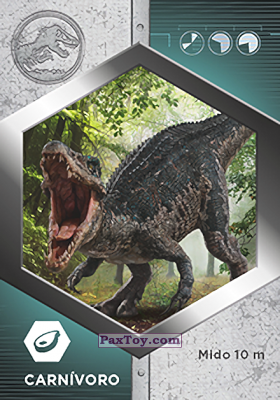 PaxToy.com - 32 Baryonyx из Supermercados DIA: Jurassic World - Cards