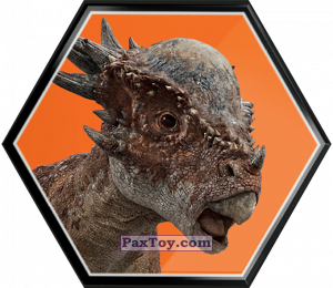 PaxToy.com - 32 Stygimoloch из Carrefour: Jurassic World