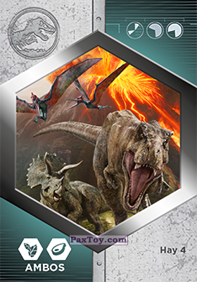 PaxToy.com - 34 Estampida из Supermercados DIA: Jurassic World - Cards