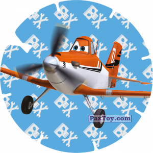 PaxToy.com - 37 - DUSTY (PLANES) из Billa: Super Flizz 1