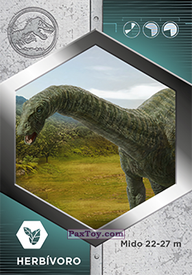 PaxToy.com - 38 Apatosaurio из Supermercados DIA: Jurassic World - Cards