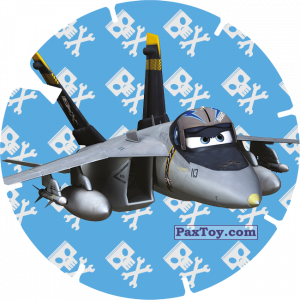 PaxToy.com - 38 - BRAVO (PLANES) из Billa: Super Flizz 1