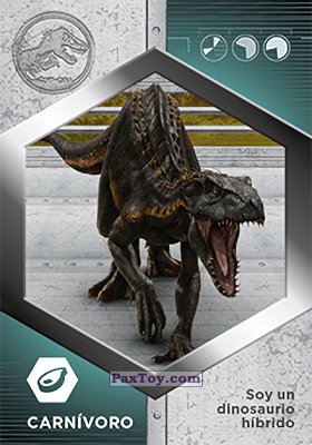 PaxToy.com - 39 Indorraptor из Supermercados DIA: Jurassic World - Cards