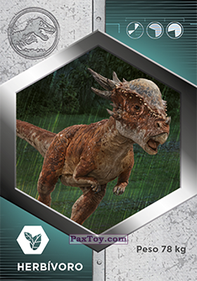 PaxToy.com - 41 Stygimoloch из Supermercados DIA: Jurassic World - Cards