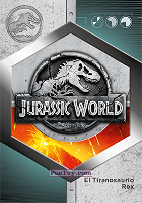 PaxToy.com - 42 Jurassic World из Supermercados DIA: Jurassic World - Cards
