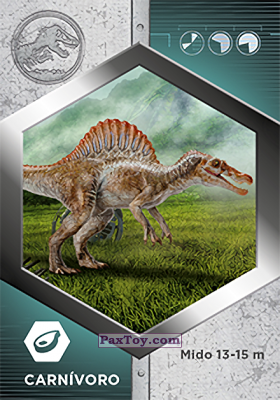PaxToy.com - 45 Espinosaurio из Supermercados DIA: Jurassic World - Cards