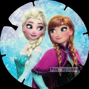 PaxToy.com - 47 Anna et Elsa (La Reine des Neiges) из Simply Market: Super Flizz 2