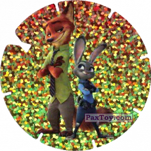 PaxToy.com - 49 Judy Hopps et Nick Wilde (Zootopie) из Simply Market: Super Flizz 2