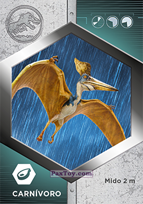 PaxToy.com - 49 Pteranodon из Supermercados DIA: Jurassic World - Cards