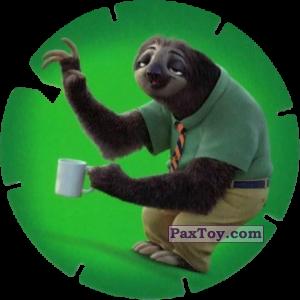 PaxToy.com  Фишка / POG / CAP / Tazo 52 Flash (Zootopie) из Mega Image: Super Flizz 2