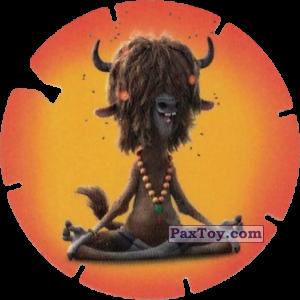 PaxToy.com  Фишка / POG / CAP / Tazo 53 Yax (Zootopie) из Mega Image: Super Flizz 2