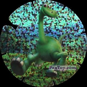 PaxToy.com  Фишка / POG / CAP / Tazo 61 Arlo (Le Voyage d'Arlo) из Mega Image: Super Flizz 2