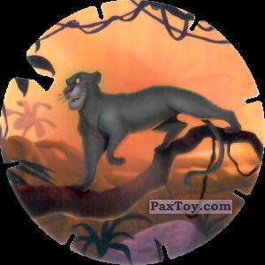 PaxToy.com  Фишка / POG / CAP / Tazo 69 Bagheera (Le Livre de la Jungle) из Mega Image: Super Flizz 2