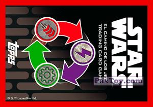 PaxToy.com - 008 Vaina De Carreras (Сторна-back) из Carrefour: Star Wars El Camino De Los Jedi (Cards)