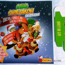 PaxToy Biedronka   2016 Gang Swieżaków 1   Karty i Naklejki 07
