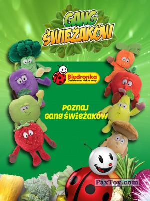PaxToy Biedronka: Gang Swieżaków 1 - Pluszowe zabawki