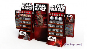 PaxToy Carrefour 2016 Star Wars Heroes y Villanos (Force Attax)