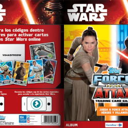 PaxToy Carrefour   2016 Star Wars Heroes y Villanos (Force Attax)   Album 00 Cover