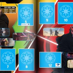PaxToy Carrefour   2016 Star Wars Heroes y Villanos (Force Attax)   Album 03 04