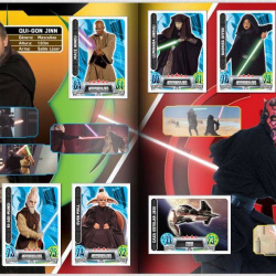 PaxToy Carrefour   2016 Star Wars Heroes y Villanos (Force Attax)   Album 03 04 Completo