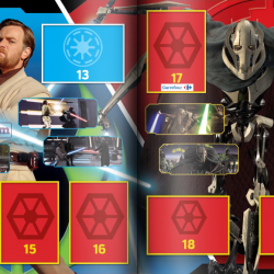 PaxToy Carrefour   2016 Star Wars Heroes y Villanos (Force Attax)   Album 05 06
