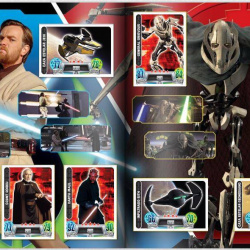 PaxToy Carrefour   2016 Star Wars Heroes y Villanos (Force Attax)   Album 05 06 Completo