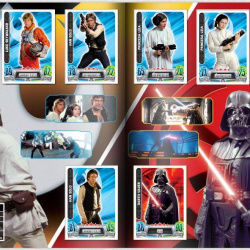 PaxToy Carrefour   2016 Star Wars Heroes y Villanos (Force Attax)   Album 07 08 Completo