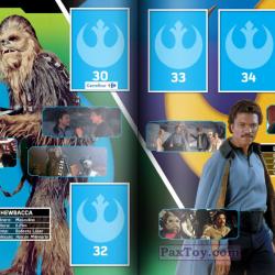 PaxToy Carrefour   2016 Star Wars Heroes y Villanos (Force Attax)   Album 09 10