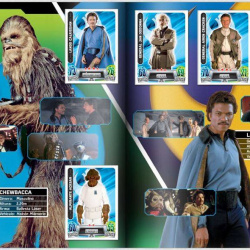 PaxToy Carrefour   2016 Star Wars Heroes y Villanos (Force Attax)   Album 09 10 Completo