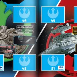 PaxToy Carrefour   2016 Star Wars Heroes y Villanos (Force Attax)   Album 13 14