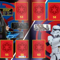 PaxToy Carrefour   2016 Star Wars Heroes y Villanos (Force Attax)   Album 15 16