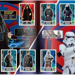 PaxToy Carrefour   2016 Star Wars Heroes y Villanos (Force Attax)   Album 15 16 Completo 08