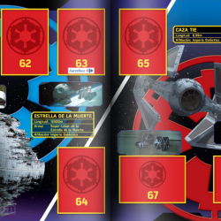 PaxToy Carrefour   2016 Star Wars Heroes y Villanos (Force Attax)   Album 17 18