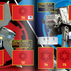 PaxToy Carrefour   2016 Star Wars Heroes y Villanos (Force Attax)   Album 19 20