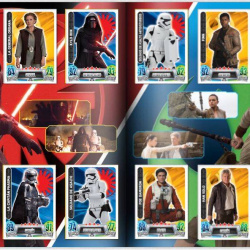 PaxToy Carrefour   2016 Star Wars Heroes y Villanos (Force Attax)   Album 23 24 Completo