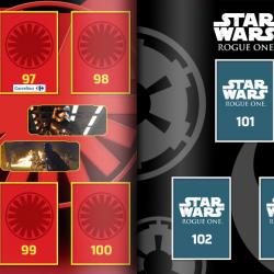 PaxToy Carrefour   2016 Star Wars Heroes y Villanos (Force Attax)   Album 25 26