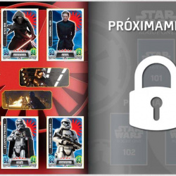 PaxToy Carrefour   2016 Star Wars Heroes y Villanos (Force Attax)   Album 25 26 Completo