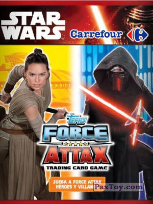 PaxToy Carrefour: Star Wars Heroes y Villanos Force Attax