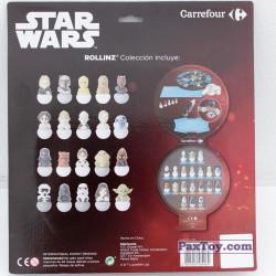 PaxToy Carrefour 2016 Star Wars Heroes y Villanos Rollinz   06