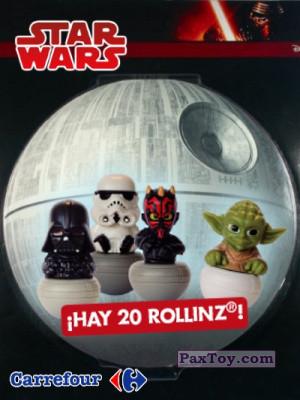 PaxToy Carrefour: Star Wars Heroes y Villanos - Rollinz