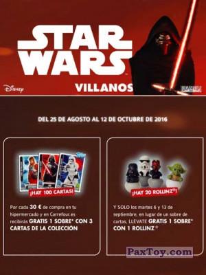 PaxToy Carrefour   2016 Star Wars Heroes y Villanos logo tax