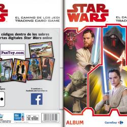PaxToy Carrefour   2017 Star Wars El Camino De Los Jedi   Album 00