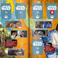 PaxToy Carrefour   2017 Star Wars El Camino De Los Jedi   Album 11 12