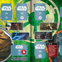 PaxToy Carrefour   2017 Star Wars El Camino De Los Jedi   Album 19 20