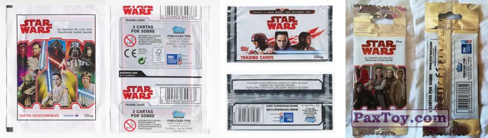PaxToy Carrefour 2017 Star Wars El Camino De Los Jedi Cards