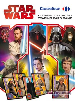 PaxToy Carrefour 2017 Star Wars El Camino De Los Jedi logo tax