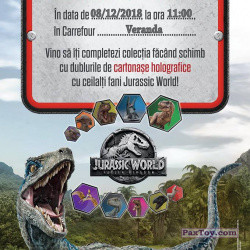 PaxToy Carrefour   2018 Jurassic World   01